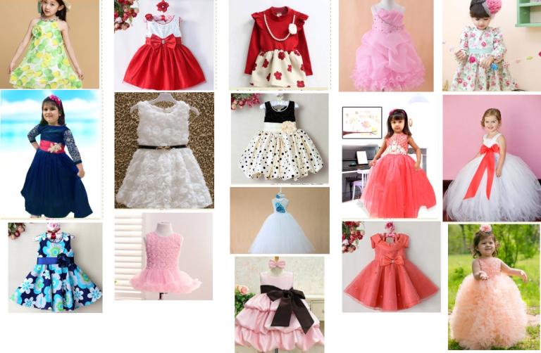 party_dress_pinknblueindia